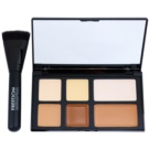 Freedom Pro Cream Strobe Palette To Facial Contours With Brush  10 g