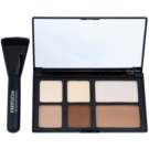 Freedom Pro Powder Strobe Palette To Facial Contours With Brush  15 g