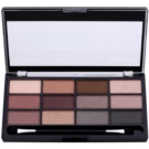 Freedom Pro 12 Stunning Smokes Eye Shadow Palette With Applicator  12 g