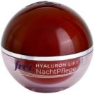 Frei Anti Age Hyaluron Lift Festigende regenerierende Nachtcreme gegen Falten  50 ml