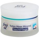 Frei Dead Sea Mineral crema de noche con efecto alisante para pieles normales y secas (Mineral-Aktiv-Complex) 50 ml