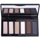 GA-DE Basics paleta cieni do powiek z lusterkiem odcień 02 Pearls (6 Color Eyeshadow) 7,8 g