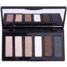 GA-DE Basics Eye Shadow Palette With Mirror Color 02 Pearls (6 Color Eyeshadow) 7,8 g