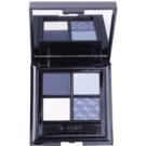 GA-DE Idyllic paleta očních stínů se zrcátkem a aplikátorem odstín 39 Denim Blue (4 Color Eyeshadow) 7 g