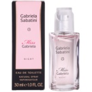 Gabriela Sabatini Miss Gabriela Night Eau de Toilette für Damen 30 ml