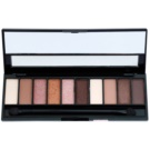 Gabriella Salvete Palette 10 Shades Eye Shadow Palette With Mirror And Applicator Color 01 Rose 12 g