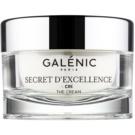 Galénic Secret D'Excelence verjüngende Creme gegen alle Alterserscheinungen für Gesicht, Hals und Dekolleté (Smoothes, Plumps, Moisturizes, Evens) 50 ml