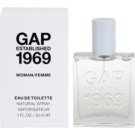Gap Gap Established 1969 for Woman Eau de Toilette para mulheres 30 ml