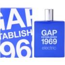 Gap Gap Established 1969 Electric Eau de Toilette für Herren 100 ml