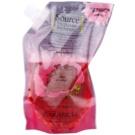 Garancia Enchanted Micellar Water Rose água de limpeza para o rosto, olhos e lábios recarga 400 ml
