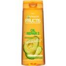 Garnier Fructis Oil Repair 3 champô reforçador para cabelo seco a danificado (Fortifying Shampoo) 250 ml