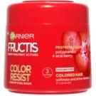 Garnier Fructis Color Resist vyživující maska pro ochranu barvy (Nourishing Mask) 300 ml