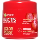 Garnier Fructis Color Resist mascarilla nutritiva para proteger el color (Nourishing Mask) 300 ml