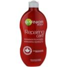 Garnier Repairing Care regenerujące mleczko do ciała do bardzo suchej skóry  400 ml