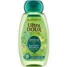 Garnier Ultra Doux revitalizační šampon pro oslabené vlasy 5 rostlin  250 ml