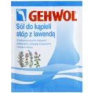 Gehwol Classic revitalizující rozmarýnová koupelová sůl  10 x 20 g