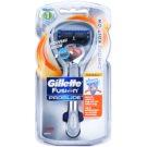 Gillette Fusion Proglide Flexball Chrome Edition бритва + запасні леза  2 кс