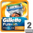 Gillette Fusion Proglide Power Replacement Blades  2 pc