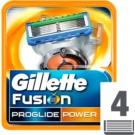Gillette Fusion Proglide Power recambios de cuchillas 4 ud