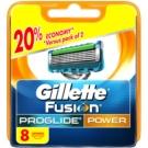Gillette Fusion Proglide Power Replacement Blades  8 pc