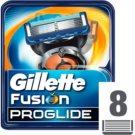 Gillette Fusion Proglide recarga de lâminas 8 un.