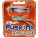 Gillette Fusion Power náhradní břity (Spare Blades) 2 Ks