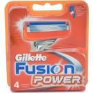 Gillette Fusion Power recambios de cuchillas  4 ud
