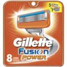 Gillette Fusion Power recambios de cuchillas  8 ud