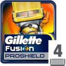 Gillette Fusion Proshield recambios de cuchillas  4 ud