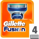 Gillette Fusion Replacement Blades (Spare Blades) 4 Ks