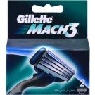 Gillette Mach 3 Spare Blades náhradné žiletky (Spare Blades 2 pcs) 2 Ks