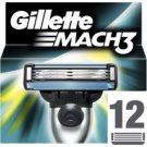 Gillette Mach 3 Spare Blades náhradné žiletky (Cartridges)