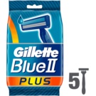 Gillette Blue II Plus Disposable Razors  5 pc