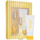 Giorgio Beverly Hills Yellow darčeková sada I. toaletná voda 90 ml + telové mlieko 200 ml