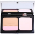 Givenchy Teint Couture paleta de blushes para pele radiante tom 04 Elegant Beige SPF 10 (Long - Wearing Compact Foundation & Highlighter) 10 g