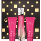 Givenchy Very Irresistible 2012 ajándékszett IX. Eau de Toilette 50 ml + csillogó testápoló tej 75 ml + tusfürdő gél 75 ml