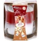 Glade Luminous Apple Spice and Vanilla 2 in1 lumanari parfumate  135 g
