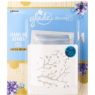 Glade Discreet Electric Air Freshener 8 g With Refill Sparkling Wonder