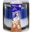 Glade Velvet Tea Party and Vanilla 2 in 1 dišeča sveča  135 g