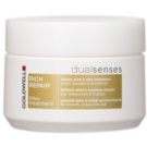 Goldwell Dualsenses Rich Repair masca pentru regenerare pentru par uscat si deteriorat (60sec Treatment) 200 ml