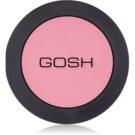 Gosh Natural pudrová tvářenka odstín 39 Electric Pink 5 g