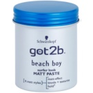 got2b Beach Boy pasta matificante  para definir e formar (Surfer Look Matt Paste) 100 ml