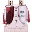 Grace Cole Boutique Warm Vanilla & Sandalwood kozmetická sada I.