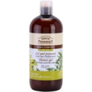 Green Pharmacy Body Care Shea Butter & Green Coffee Duschgel (0% Parabens, Silicones, PEG) 500 ml