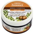 Green Pharmacy Body Care Shea Butter & Green Coffee Zucker-Salz Peeling  300 ml