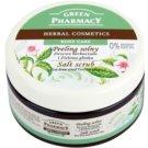 Green Pharmacy Body Care Tea Tree & Green Clay sare pentru exfoliere  300 ml