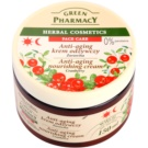 Green Pharmacy Face Care Cranberry creme nutritivo anti-idade de pele (0% Parabens) 150 ml