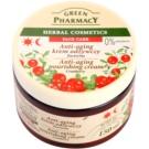 Green Pharmacy Face Care Cranberry creme nutritivo anti-idade de pele  150 ml