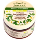 Green Pharmacy Face Care Green Tea Mattifying Cream For Mixed And Oily Skin (0% Parabens) 150 ml