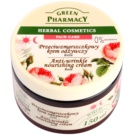 Green Pharmacy Face Care Rose creme antirrugas nutritivo (0% Parabens) 150 ml